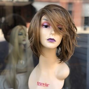 Blonde 2216 Short bob Soft Lacefront Wig 2020